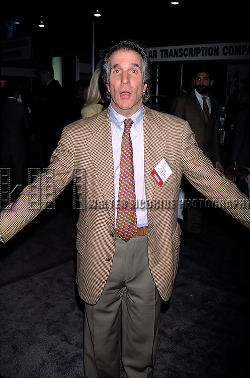 Henry Winkler attending the N.A.T.P.E. Television Convention in Las Vegas, Nevada. January 1996