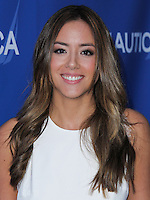 SANTA MONICA, CA, USA - MAY 16: Chloe Bennet at the Nautica And LA Confidential's Oceana Beach House Party held at the Marion Davies Guest House on May 16, 2014 in Santa Monica, California, United States. (Photo by Xavier Collin/Celebrity Monitor)