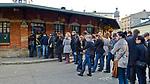 """""""Okrąglak"""" na Placu Nowy w Krakowie - stoisko z zapiekankami.<br /> """"Okrąglak"""" on the New Square in Krakow - a stall with casserole."""