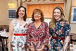 Supporting the Spa Fenit Hospice annual Ladies Midsummer Lunch at the Oyster Tavern on Saturday .<br /> Clara McSwiney, Mairead Moriarty (Sec of Spa/Fenit Hospice) and Mary O'Reilly