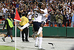 11 October 2008: DaMarcus Beasley (USA) (7) celebrates his first goal with Sacha Kljestan (USA) (16). The United States Men's National Team defeated Cuba Men's National Team 6-1 at RFK Stadium in Washington, DC in a CONCACAF semifinal round FIFA 2010 South Africa World Cup Qualifier.