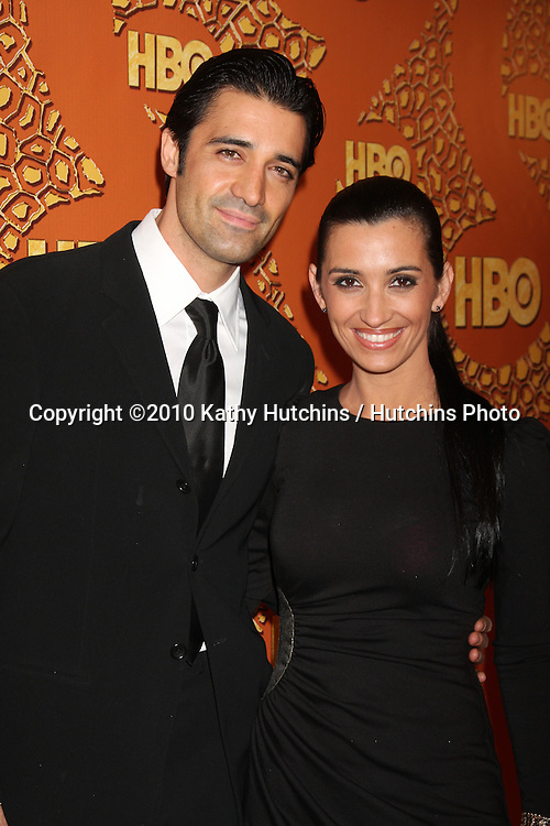 Gilles Marini & Wife.arriving at the 67th Annual Golden Globe Awards Official HBO After Party.Beverly Hilton Hotel.Beverly Hills, CA.January 17, 2010.©2010 Kathy Hutchins / Hutchins Photo....