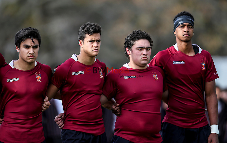 1st XV rugby union, Kings College v Auckland Grammar School,Kings College, Auckland, New Zealand. Saturday 18 June 2016. Photo: Simon Watts/www.bwmedia.co.nz for Kings College