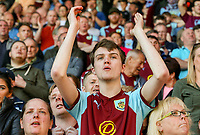 Burnley fans cheer for their team after the match<br /> <br /> Photographer Alex Dodd/CameraSport<br /> <br /> The Premier League - Burnley v Bournemouth - Sunday 13th May 2018 - Turf Moor - Burnley<br /> <br /> World Copyright &copy; 2018 CameraSport. All rights reserved. 43 Linden Ave. Countesthorpe. Leicester. England. LE8 5PG - Tel: +44 (0) 116 277 4147 - admin@camerasport.com - www.camerasport.com