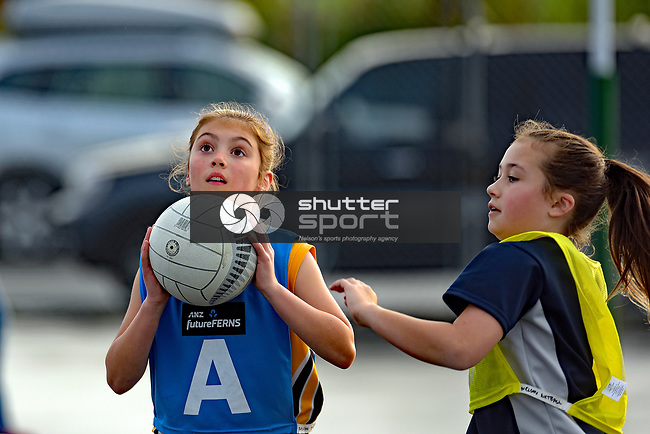 NELSON, NEW ZEALAND - JUNE 24: Club Netball, Saxton, June 24, 2017, Nelson, New Zealand. (Photo by: Barry Whitnall Shuttersport Limited)