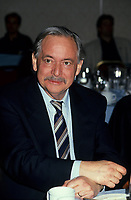 Montreal (Qc) CANADA, November 1994 File Photo -<br /> Parti Quebecois (PQ) Leader Jacques Parizeau .<br /> Photo by Pierre Roussel / Images Distribution