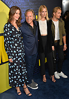 "LOS ANGELES, USA. October 15, 2019: Don Johnson, Kelley Phleger, Grace Johnson & Jesse Johnson at the premiere of HBO's ""Watchmen"" at the Cinerama Dome, Hollywood.<br /> Picture: Paul Smith/Featureflash"