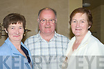 ATTENDING: Teresa and John Foley(Miltown) and Phil Reidy (Abbeyfeal) who were at the The Film of the History of Knockanure at Tintean Theatre, Ballybunion on Friday night.... ....