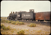 D&amp;RGW #498 K-37 possibly in Alamosa.<br /> D&amp;RGW  Alamosa, CO