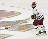 Nathan Gerbe - Boston College defeated Merrimack College 3-0 with Tim Filangieri's first two collegiate goals on November 26, 2005 at Kelley Rink/Conte Forum in Chestnut Hill, MA.