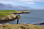 Photographer Art Wolfe on location in Iceland