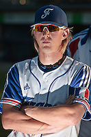 31 July 2010: Luc Piquet of Team France is seen after the Greece 14-5 win over France, at the 2010 European Championship, in Heidenheim, Germany.