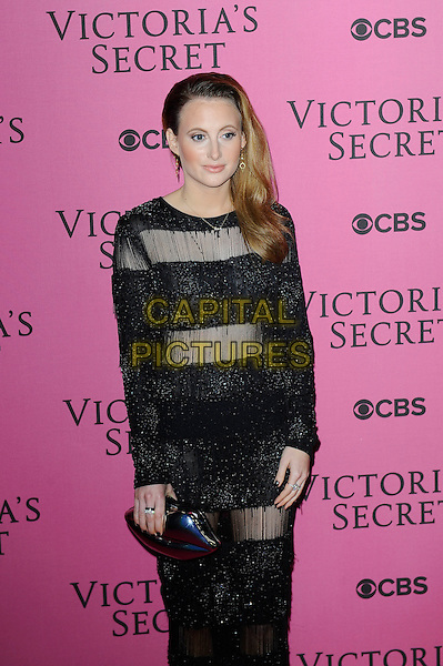 LONDON, ENGLAND - DECEMBER 2: Rosie Fortescue attends the pink carpet for Victoria's Secret Fashion Show 2014, Earls Court on December 2, 2014 in London, England.<br /> CAP/MAR<br /> &copy; Martin Harris/Capital Pictures