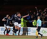 Mark O'Hara celebrates for Dundee