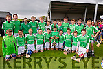 Ballyduff  U-14 Hurlers win the  Jimmy Cotter Memorial Cup  at the Hurling feile Final 2015 against  Ballyheigue  in Abbeydorney on Monday