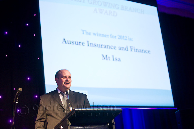 Ausure 2012 Conference Awards Night, 8 Sept 2012.