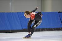 SCHAATSEN: SALT LAKE CITY: Utah Olympic Oval, 12-11-2013, Essent ISU World Cup, training, Christine Nesbitt (CAN), ©foto Martin de Jong