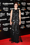 Actress Elena Furiase attends Goya Cinema Awards 2014 red carpet at Centro de Congresos Principe Felipe on February 9, 2014 in Madrid, Spain. (ALTERPHOTOS/Victor Blanco)