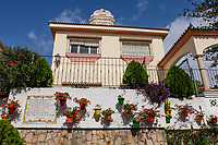 Villa, house, old town, Estepona, Malaga Province, Spain, October, 2018, 2018100816<br />