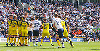 Preston North End's Billy Bodin shoots at goal from a freekick<br /> <br /> Photographer Alex Dodd/CameraSport<br /> <br /> The EFL Sky Bet Championship - Preston North End v Burton Albion - Sunday 6th May 2018 - Deepdale Stadium - Preston<br /> <br /> World Copyright &copy; 2018 CameraSport. All rights reserved. 43 Linden Ave. Countesthorpe. Leicester. England. LE8 5PG - Tel: +44 (0) 116 277 4147 - admin@camerasport.com - www.camerasport.com