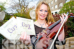 "Killarney musician Niamh Ni Charra, pictured at the launch of her cd ""Cuz"" in the Gleneagle Hotel, Killarney on Saturday night."