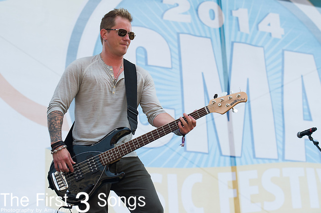 Barry Knox of Parmalee performs on Day Two of the 2014 CMA Music Festival in Nashville, Tennessee.