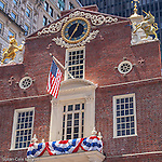 The Old State House, Freedom Trail, Boston National Historical Park, Boston, MA, USA