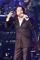 MIAMI, FL - AUGUST 3, 2012: Marco Antonio Solis performs during the Gigant3s concert featuring, Marc Anthony, Chayanne and Marco Anotonio Solis at the American Airlines Arena in Miam, Florida. August 3, 2012. © Majo Grossi/MediaPunch Inc. /NortePhto.com<br />