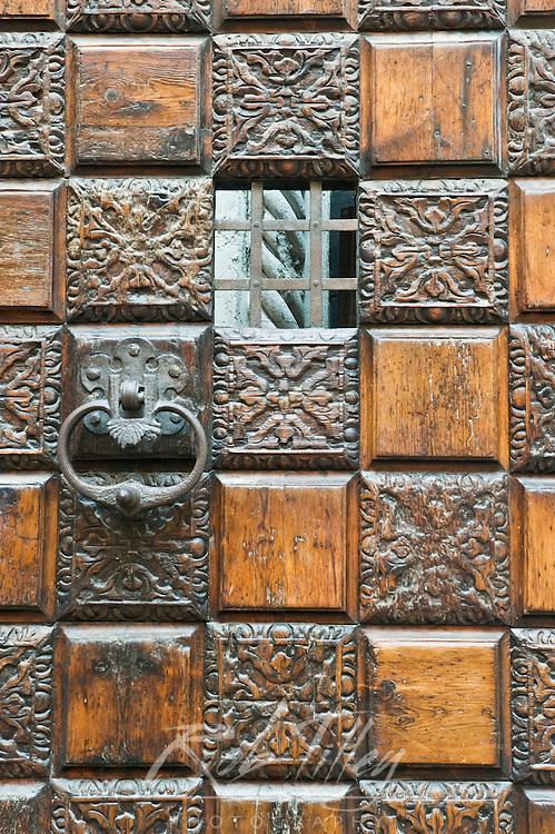 Europe, Italy, Venice, Ca' d'Oro (Palazzo Santa Sofia) Door