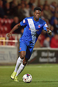 11/08/2015 Capital One Cup, First Round Fleetwood Town v Hartlepool United<br /> Rakish Bingham, Hartlepool United