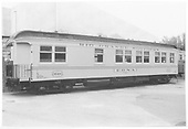 Side view of RGS business car #B-20 &quot;Edna&quot; from galley end.<br /> ex RGS  Knotts Berry Farm, Buena Park, CA