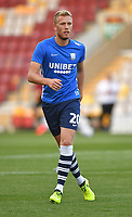 Preston North End's Jayden Stockley<br /> <br /> Photographer Dave Howarth/CameraSport<br /> <br /> The Carabao Cup First Round - Bradford City v Preston North End - Tuesday 13th August 2019 - Valley Parade - Bradford<br />  <br /> World Copyright © 2019 CameraSport. All rights reserved. 43 Linden Ave. Countesthorpe. Leicester. England. LE8 5PG - Tel: +44 (0) 116 277 4147 - admin@camerasport.com - www.camerasport.com