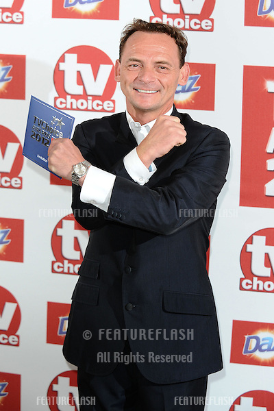 Perry Fenwick arriving for the 2012 TVChoice Awards, at the Dorchester Hotel, London. 10/09/2012. Picture by:  Steve Vas / Featureflash
