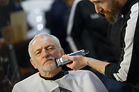 2019 12 07 Labour Party leader Jeremy Corbyn pre-election campaign in Barry, south Wales, UK