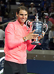 Rafael Nadal (ESP) defeated Kevin Anderson (RSA)  6-3, 6-3, 6-4, in the final