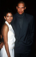 Halle Berry and husband David Justice 1994<br /> Photo By John Barrett/PHOTOlink