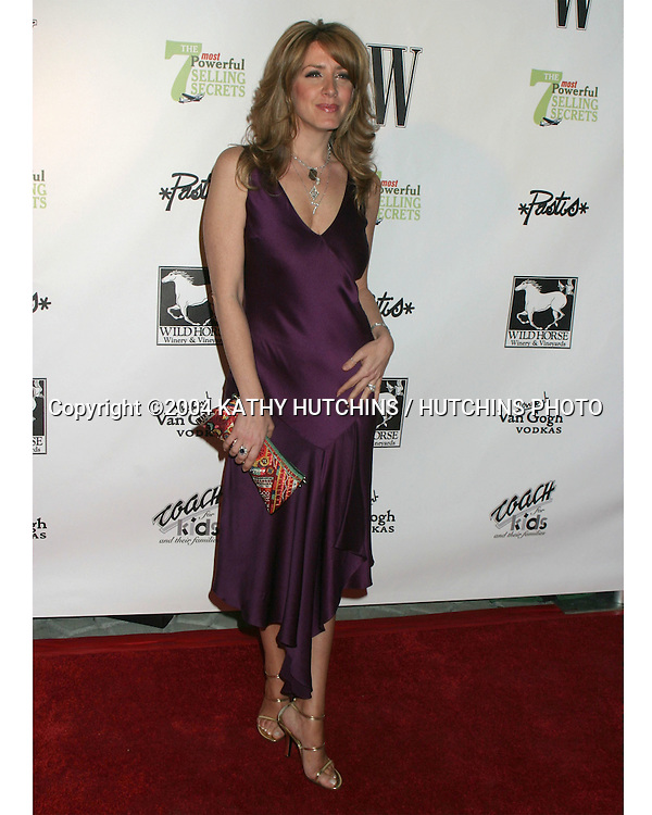 ©2004 KATHY HUTCHINS / HUTCHINS PHOTO.W MAGAZINE PARTY IHO JOHN LIVESAY.BEL AIR, CA.JANUARY 22,  2004..JOELY FISHER.