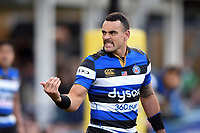 Kahn Fotuali'i of Bath Rugby. Aviva Premiership match, between Bath Rugby and Harlequins on November 25, 2017 at the Recreation Ground in Bath, England. Photo by: Patrick Khachfe / Onside Images