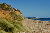 BNPS.co.uk (01202 558833)<br /> Pic: ZacharyCulpin/BNPS<br /> <br /> The beach at the picturesque Hengistbury Head.<br /> <br /> Passengers have hit out at a 'farcical' council-run land train at a beauty spot after a driver shortage put it out of action for the ninth time in three months.<br /> <br /> The popular Hengistbury Head Land Train in Dorset has already been besieged by a series of mechanical failures over the summer.<br /> <br /> Now, the stricken service, which is overseen by BCP Council, has suffered further ignimony as it was forced to shut down for three days to enable their only available driver to do some 'mandatory training'. This had been arranged at the same time that their second driver was on annual leave.<br /> <br /> The novelty 'Noddy' train service, which takes thousands of visitors a year 1.5 miles from the car park at the Hengistbury Head nature reserve to Mudeford Spit, was launched by the late Joyce and Roger Farris in 1968.<br /> <br /> It was operated independently, running for 364 days a year, until it was controversially taken over by the local council in 2015 who terminated their contract.