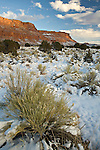Snow on the Vermilion Cliffs in Arizona