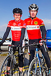 Lacey Cup Lee Strand Team Teddy McCarthy and JP O'Connell at the Lacey cup cycle race in Tralee on Sunday.