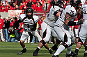 17 October 2009: Texas Tech quarterback Steven Sheffield scrambles for 7 yards in the first quarter against Nebraska at Memorial Stadium, Lincoln, Nebraska. Texas Tech defeats Nebraska 31 to 10.