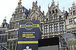 Antwerp start city for the 2019 Ronde Van Vlaanderen 270km from Antwerp to Oudenaarde, Belgium. 7th April 2019.<br /> Picture: Eoin Clarke | Cyclefile<br /> <br /> All photos usage must carry mandatory copyright credit (&copy; Cyclefile | Eoin Clarke)