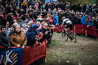 World Champion Wout Van Aert (BEL/Cibel Cebon Offroad Team) <br /> <br /> Koppenbergcross Belgium 2018