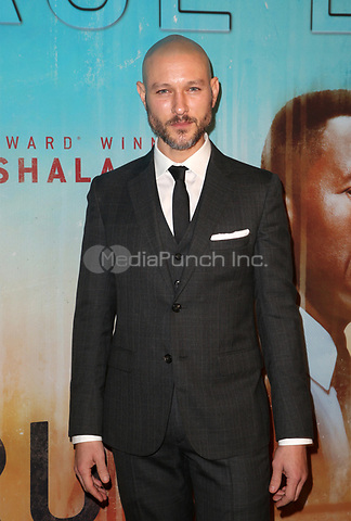 LOS ANGELES, CA - JANUARY 10: Michael Graziadei, at the Los Angeles Premiere of HBO's True Detective Season 3 at the Directors Guild Of America in Los Angeles, California on January 10, 2019. Credit: Faye Sadou/MediaPunch