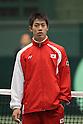 Kei Nishikori (JPN), FEBRUARY 10, 2012 - Tennis : Davis Cup 2012, World Group First Round, Opening Ceremony at Bourbon Beansdome, Hyogo, Japan. (Photo by Akihiro Sugimoto/AFLO SPORT) [1080]