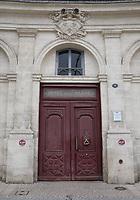 General view of Hotel de La Marine, Place de Tourny, Bordeaux, Nouvelle-Aquitaine, France on 16.10.19.