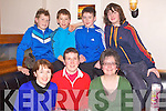 QUIZ TIME: Taking part in the Kerins O'Rahillys U14's Trip to Nemo fundrasing table quiz at the Strand Road clubhouse, Tralee on Friday front l-r: Geraldine O'Donoghue, Angela Enright and Breda Dyland. Back l-r: Killian Moran, Rory O'Connor, Sean Collins and Evan Doody.