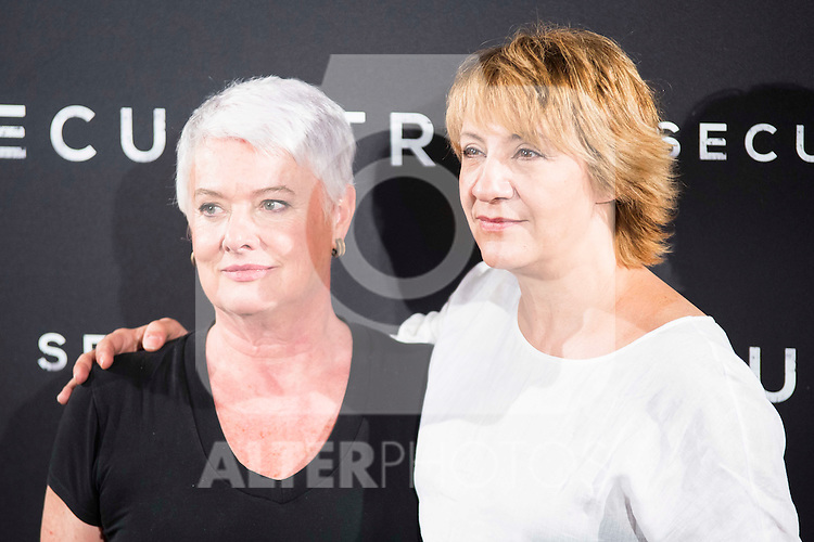 "The director of the film, Mar Targarona and Blanca Portillo during the presentation of the spanish film ""Secuestro"" in Madrid. July 27. 2016. (ALTERPHOTOS/Borja B.Hojas)"