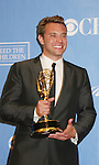 Billy Miller wins Emmy - Press Room - 37th Annual Daytime Emmy Awards on June 27, 2010 at Las Vegas Hilton, Las Vegas, Nevada, USA. (Photo by Sue Coflin/Max Photos)